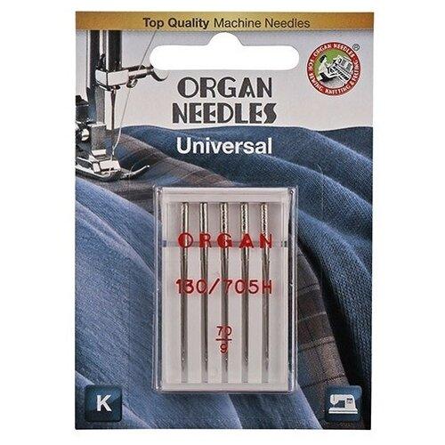 Игла/иглы Organ Universal 70 серебристый