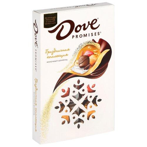 Набор конфет Dove Promises Праздничная коллекция Молочный шоколад, 62г shelley cooper promises promises