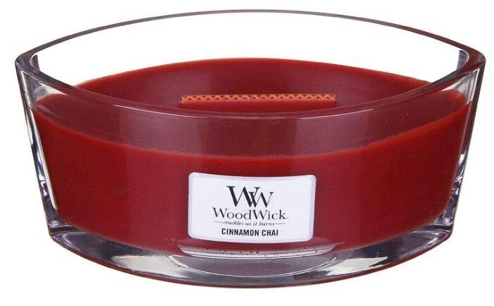 Свеча WoodWick Cinnamon Chai (76104), эллипс