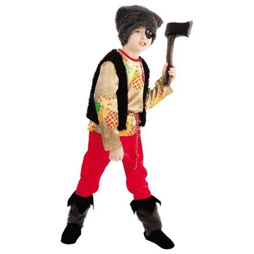 Купить Костюм Батик Разбойник (1018 к-18), красный/черный, размер 128-64, Карнавальные костюмы