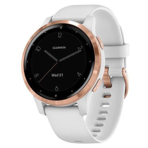Умные часы Garmin Vivoactive 4s, золотистый/белый