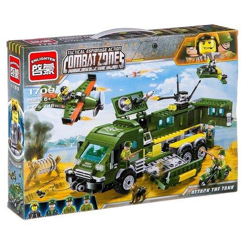 Конструктор Qman CombatZones 1709 Бронированный автомобиль конструктор qman combatzones 1712 военная база