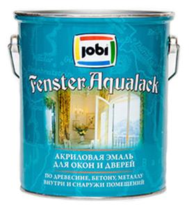Эмаль акриловая (АК) Jobi Fenster aqualack