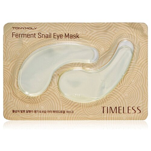 TONY MOLY Гидрогелевые патчи для глаз Ferment Snail Eye Mask 10 г (2 шт.) гель tony moly panda s dream brightening eye base 40 г