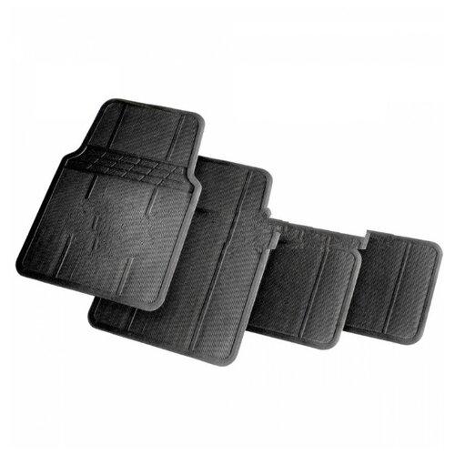 Фото - Комплект ковриков салона AUTOPROFI MAT601 4 шт. черный комплект ковриков autoprofi pet602 4 шт черный