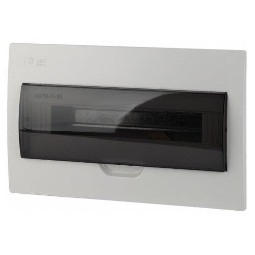 Щит распределительный ЭРА Simple ЩРВ-П-18 встраиваемый, пластик, модулей 18 белый