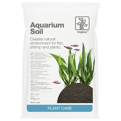 Грунт Tropica Aquarium Soil 9л темно-коричневый