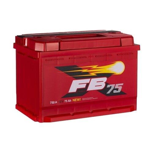 Автомобильный аккумулятор FireBall 6СТ-75VL