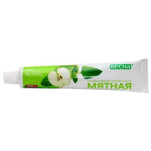 Зубная паста Весна Мята + Яблоко, 100 г