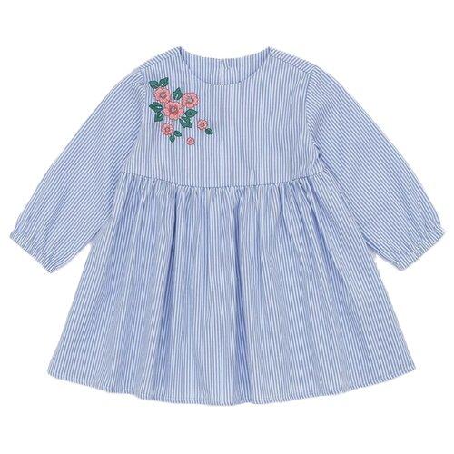 Платье Pixo размер 74, голубойПлатья и юбки<br>