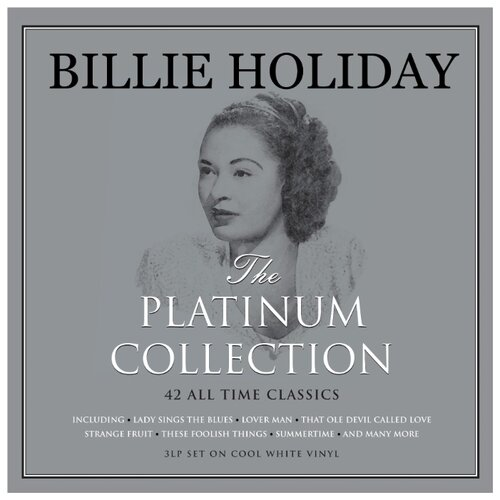 Billie Holiday. The Platinum Collection (3 CD) жозе джеймс jose james yesterday i had the blues the music of billie holiday 2 lp