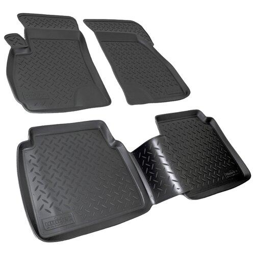 Комплект ковриков NorPlast NPL-Po-31-21 4 шт. черный по цене 1 721