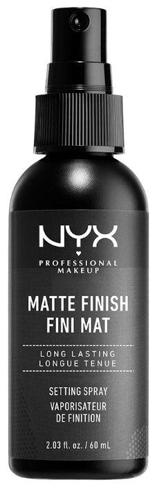 NYX Спрей-фиксатор для макияжа Matte Finish Setting Spray 60 мл