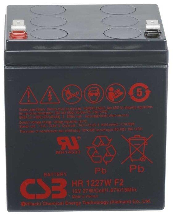 Аккумуляторная батарея CSB (HR1227W)