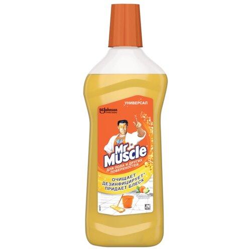 Mr. Muscle Универсальное моющее средство Цитрусовый коктейль 0.5 л средство моющее mr glatt daily универсальное 5 л