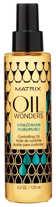 Matrix Oil Wonders Разглаживающее масло для волос Амазонская Мурумуру
