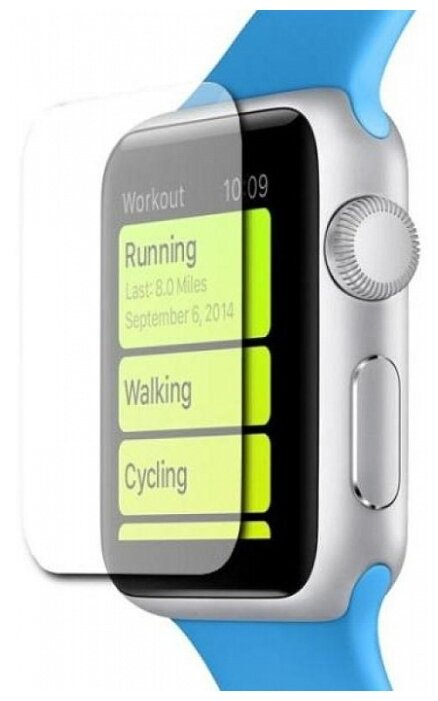 Защитная пленка COTEetCI Lyogel Glass для Apple Watch Series 4 40mm