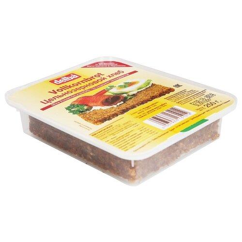 Delba Хлеб Цельнозерновой, ржаная мука, в нарезке 250 г
