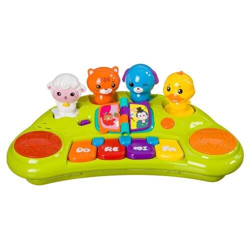 Купить Play Smart пианино Забавный хор 7731 зеленый, Детские музыкальные инструменты