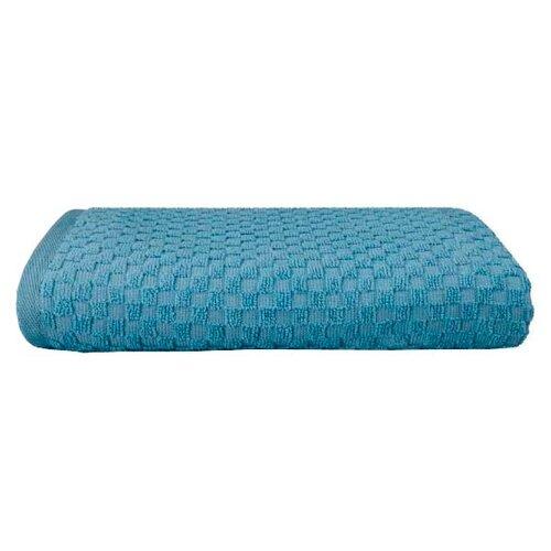 Guten Morgen Полотенце Керби банное 70х130 см Темно-голубой полотенце банное ecotex авеню голубой серый