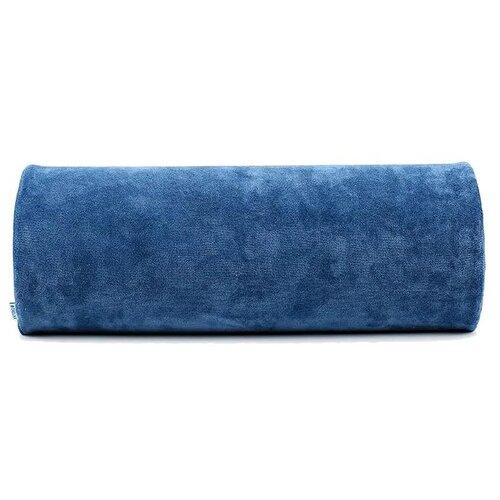 Подушка-валик TRELAX ортопедическая Roller ПФ209 18 х 47 см синий