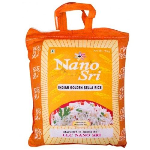 Рис Nano Sri Басмати Golden Sella пропаренный 1 кг