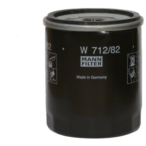 Масляный фильтр MANNFILTER W 712/82 масляный фильтр mannfilter w 712 4