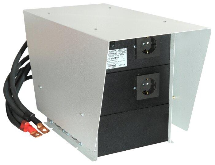 Инвертор СибКонтакт ИС1-24-6000Р DC-AC