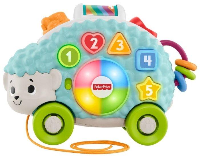 Интерактивная развивающая игрушка Fisher-Price Ежик (GJB14)
