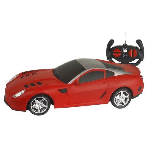 Легковой автомобиль 1 TOY Спортавто (T13848/T13849/T13850) 1:24 20 см красный легковой автомобиль 1 toy спортавто t13833 t13834 t13835 1 24 20 см оранжевый