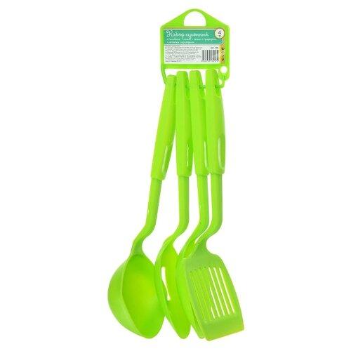 Набор навесок Vetta 881136, пластик (4 шт.) зеленый