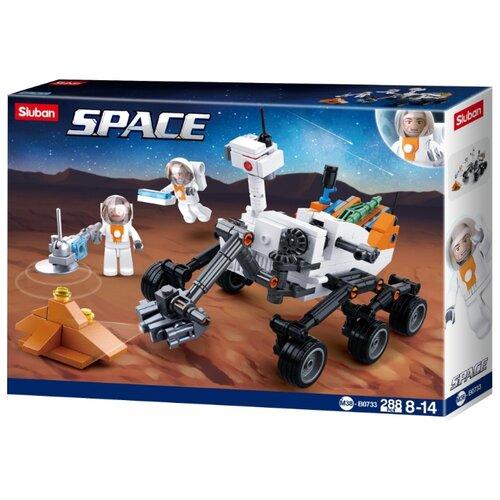 Купить Конструктор SLUBAN Космический десант M38-B0733 Космический марсоход, Конструкторы