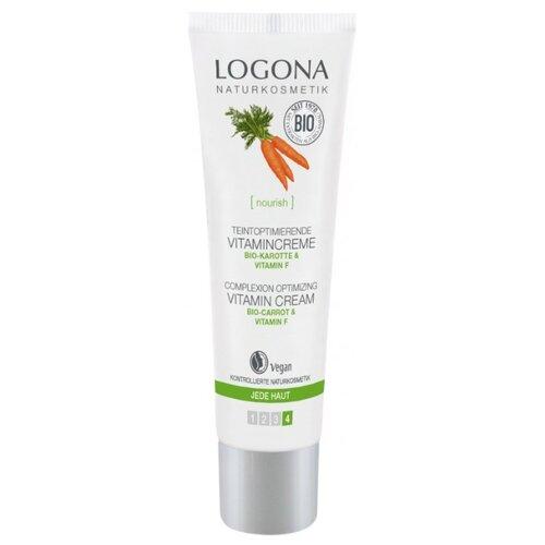 Купить Logona Крем для улучшения цвета лица с био-морковью и витамином F, 30 мл