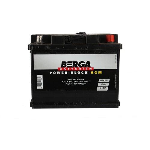 Автомобильный аккумулятор Berga PB-N9 аккумулятор