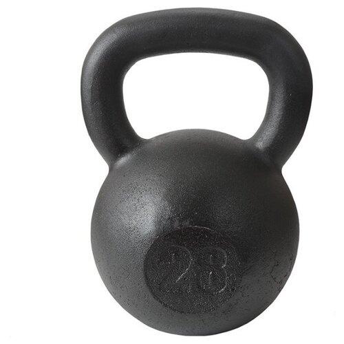 Гиря цельнолитая TITAN кроссфит 28 кг
