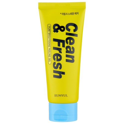 Eunyul пилинг для лица Clean & Fresh Pure Brightening Peeling Gel 120 мл пилинг для лица eunyul eunyul eu002lwcrpa5