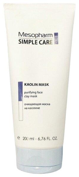 Mesopharm Маска очищающая Simple Care Kaolin Mask