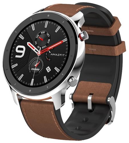 Стоит ли покупать Умные часы Amazfit GTR 47 mm stainless steel case, leather strap? Отзывы на Яндекс.Маркете
