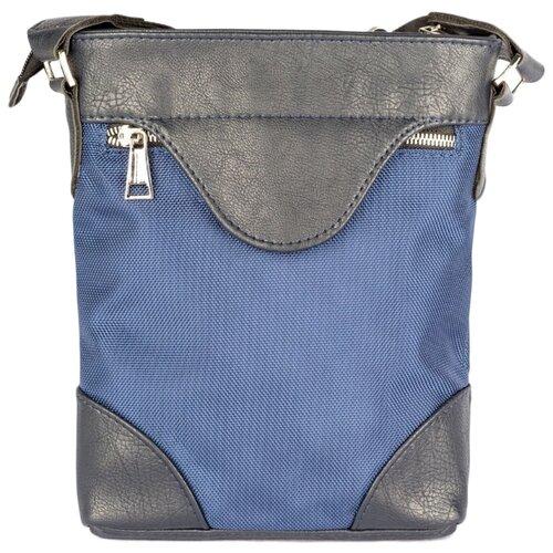 Сумка планшет SKIFFHAT 013, текстиль, синий/черный планшет