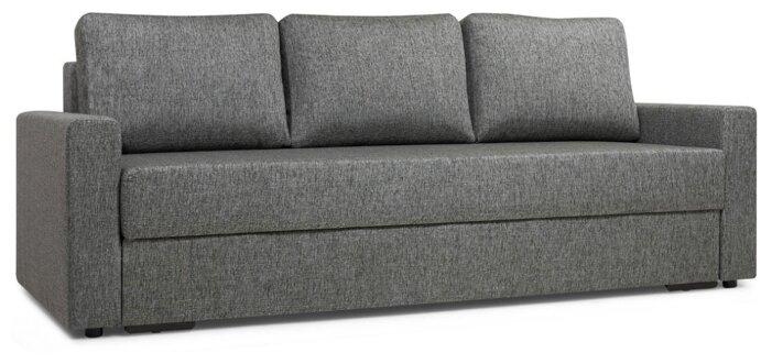 Прямой диван Первый Мебельный Фишер Коричневый
