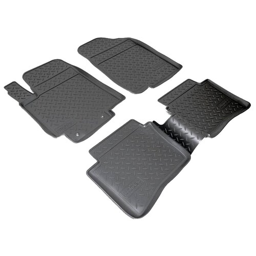 Фото - Комплект ковриков салона NorPlast NPL-Po-31-35 для Hyundai Solaris 4 шт. черный комплект ковриков norplast np11 ldc 31 052 hyundai creta 5 шт черный