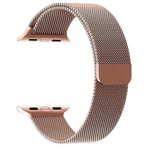 Фото - Lyambda Ремешок из нержавеющей стали Capella для Apple Watch 38/40 mm rose gold смотреть ремешок ремешок весна бар ссылка pin remover ремонт инструмента из нержавеющей стали