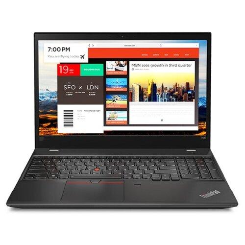 Купить Ноутбук Lenovo ThinkPad T580 (Intel Core i7 8550U 1800 MHz/15.6 /1920x1080/8GB/512GB SSD/DVD нет/Intel UHD Graphics 620/Wi-Fi/Bluetooth/Windows 10 Pro) 20L90023RT черный