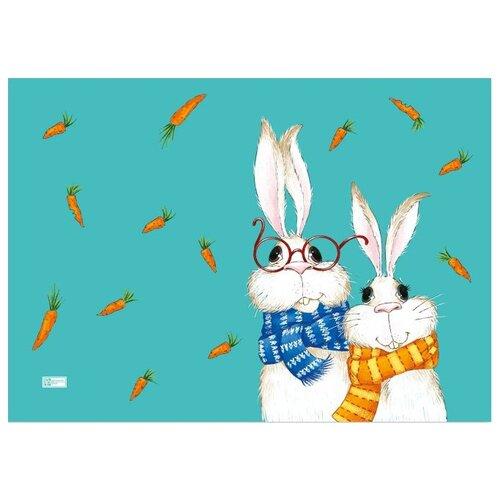 Настольное покрытие Феникс+ Кролики 70х50 см кролики