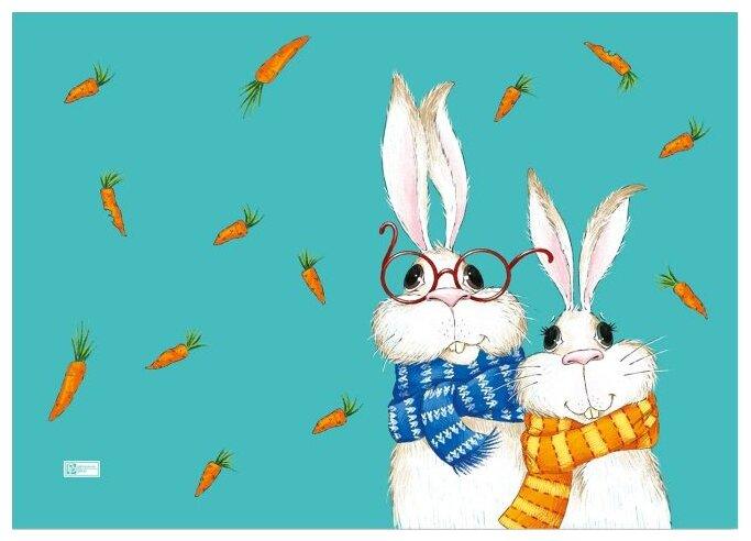 Настольное покрытие Феникс+ Кролики 70х50 см