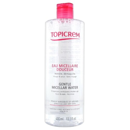 Topicrem мягкая мицеллярная вода, 400 мл topicrem шампунь купить в москве