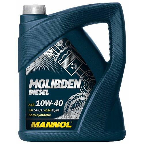 Моторное масло Mannol Molibden Diesel 10W-40 5 л