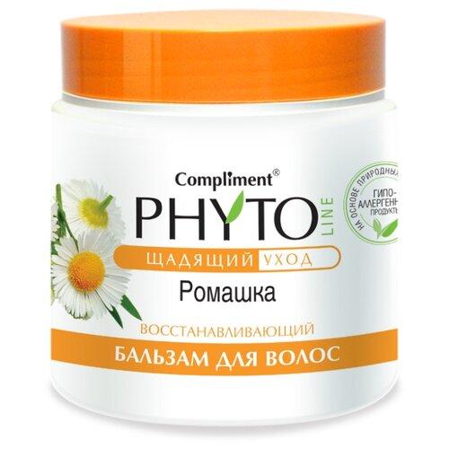 Compliment бальзам для волос Phyto Line Ромашка восстанавливающий, 500 мл