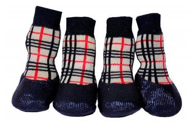 Носки для собак БАРБОСки для прогулки с латексным покрытием №5 XL
