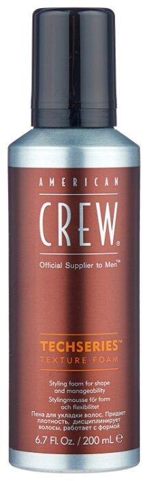 American Crew Пена Techseries Texture Foam